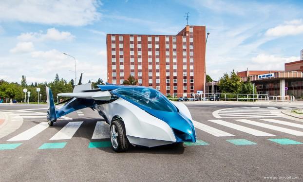 Aeromobil en modo auto