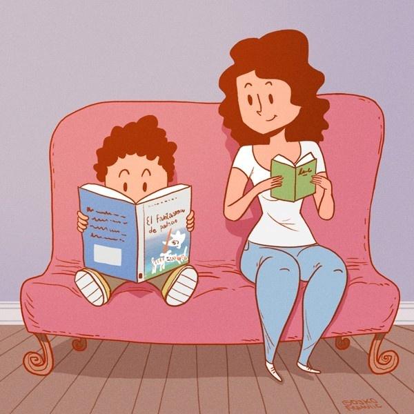 lectura, educación, libros, leer