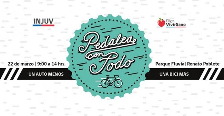 Cicletada, Bicicleta, ciclismo, Parque Renato Poblete, Injuv