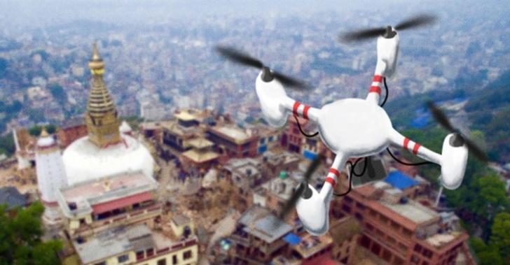Nepal, terremoto, drones, ayuda, vidas, Canadá