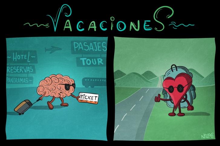 viajar, viajeros, vacaciones, cerebro, corazón, planes, planear, programar, aventura, caminos, panoramas