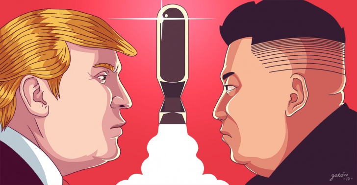Estados Unidos, Corea del Norte, guerra nuclear, Trump, Kim Jong-un