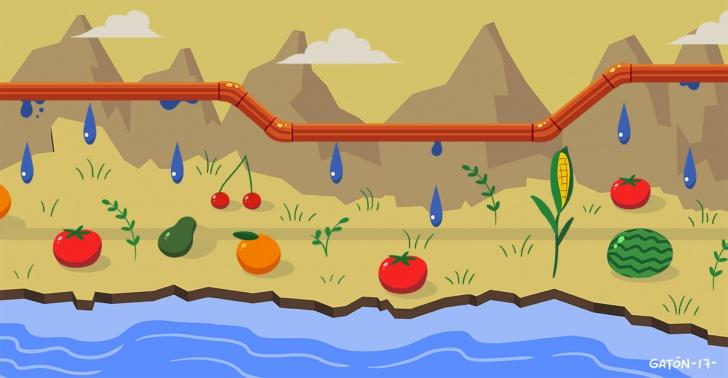 carretera hídrica, agricultura, Chile, agua, recursos hídricos