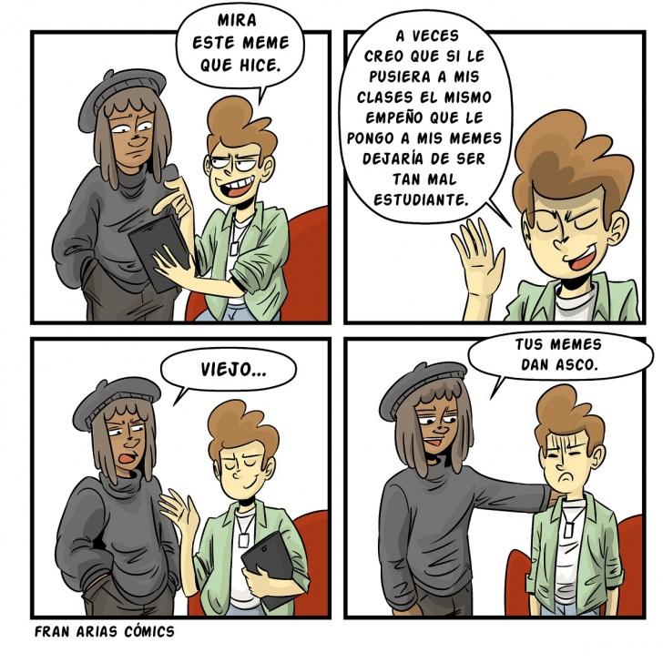 Memes Amigos Internet Estudiantes Clases