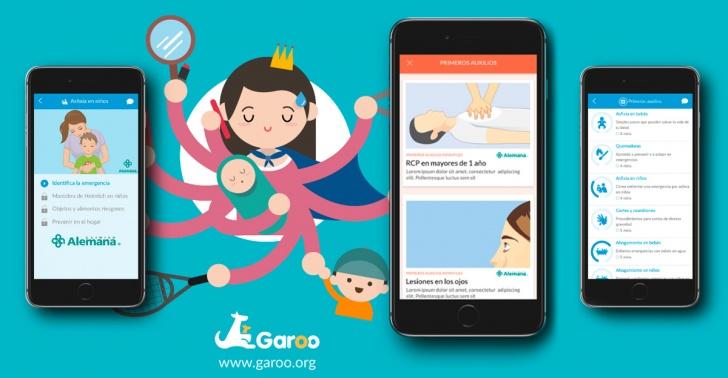salud, primeros auxilios, emergencia, hijos, vida, Garoo