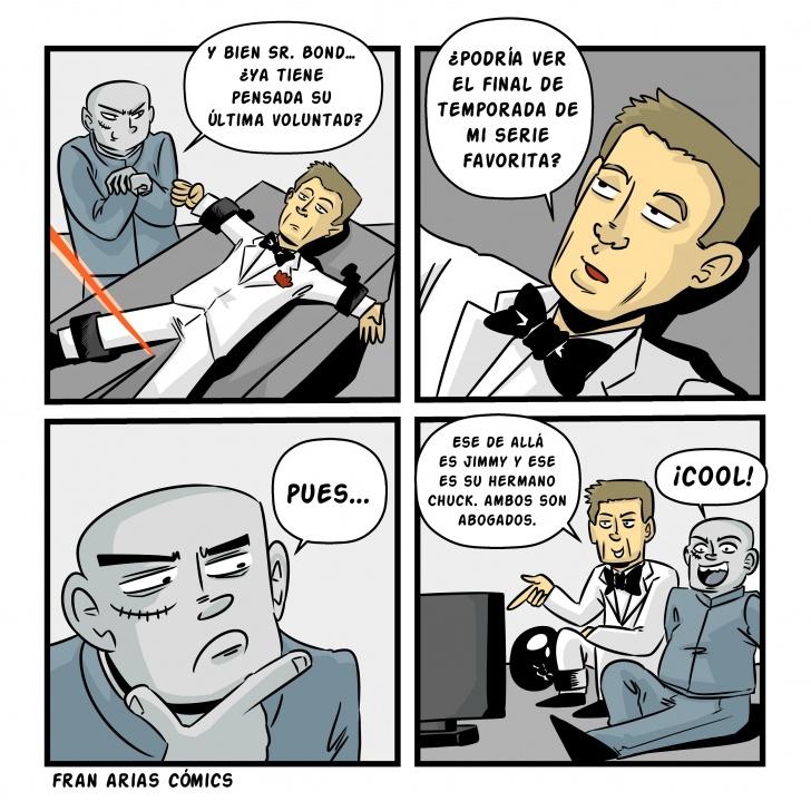 Series, James Bond, Cine, Villanos, Agentes secretos.