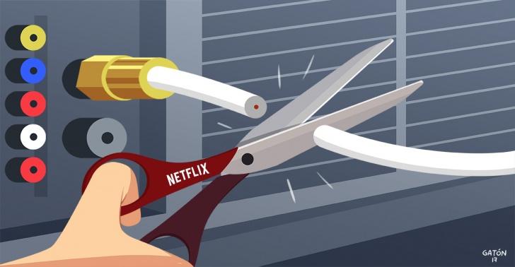 netflix, cambio, television, TV, cable, sociedad