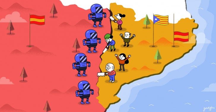 cataluña, españa, independencia, referendum, conflicto