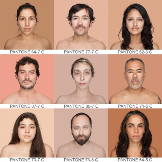 Color de piel mate