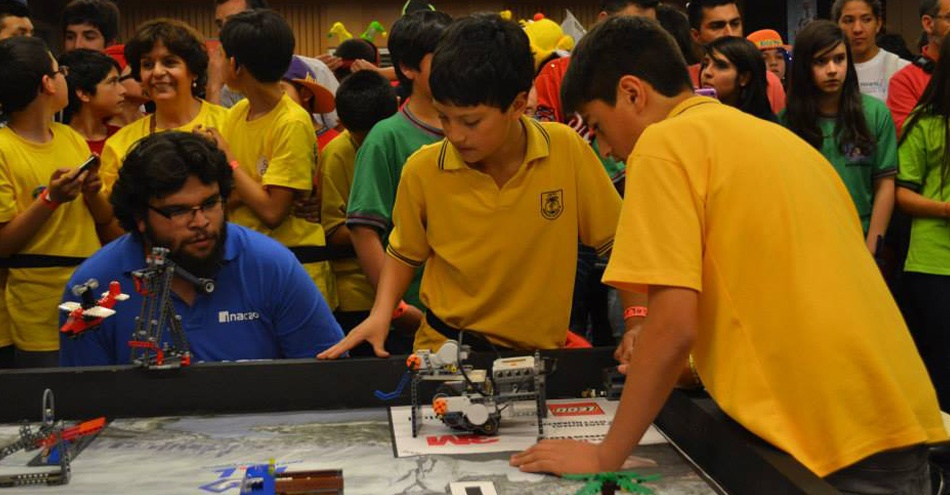 Sparktalents: Robótica y autoaprendizaje, jugando con LEGO