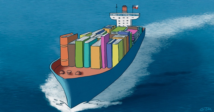 No sólo cobre y vino. El potente plan para exportar libros chilenos al mundo