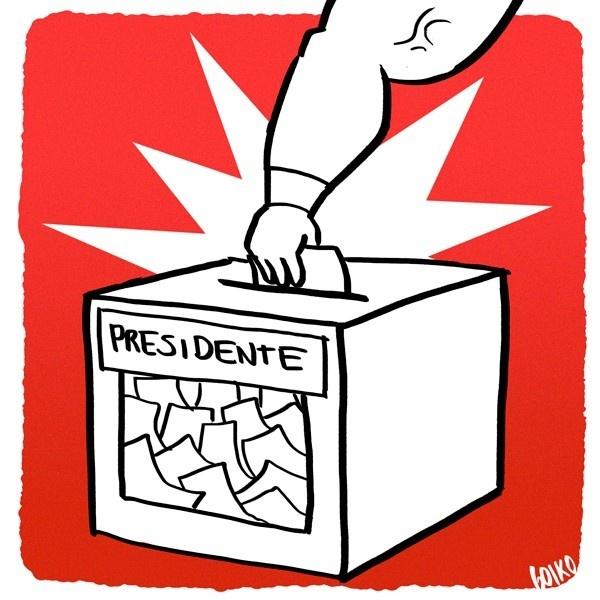 Elecciones, presidenciales, voto voluntario, inscripción automática, primarias