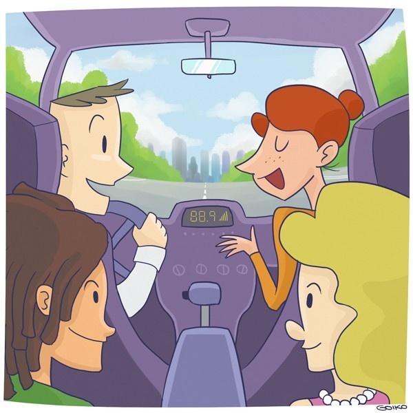taco, congestión, autos, smog, carpooling, compartir