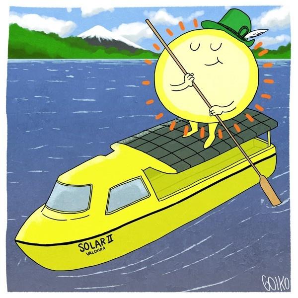valdivia, rio, calle-calle, energía, sustentable, solar