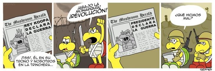 Guerra, Mario Bros, Juegos, Monarquía, Revolucion