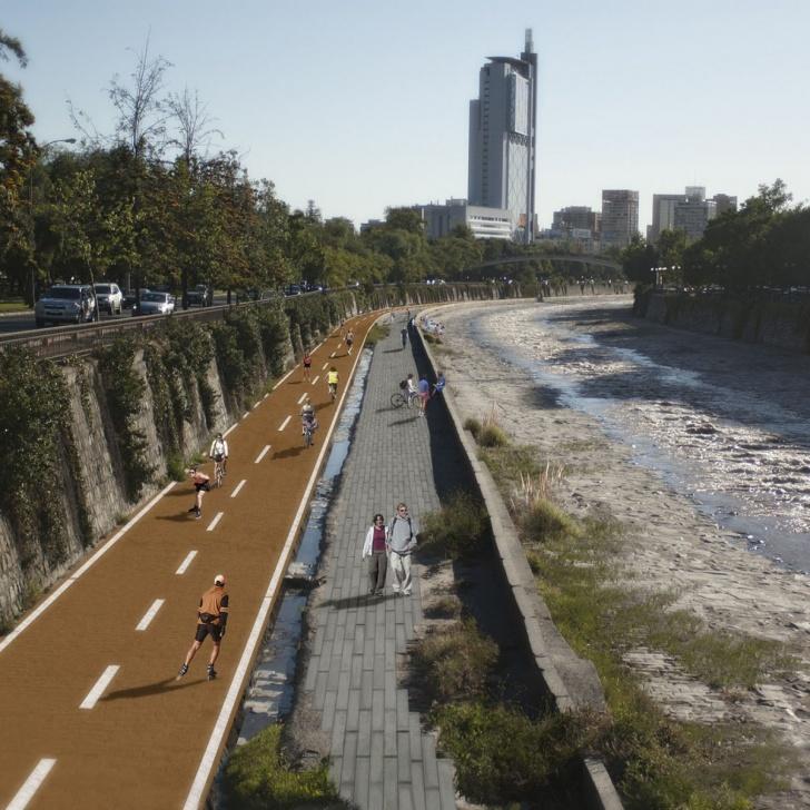 ciclismo, Mapocho, urbanismo, ciudad, proyectos, cicletadas