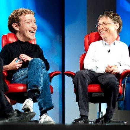 clinton, bill gates, fundaciones, donaciones, caridad, millonarios, facebook, mark zuckerbeg
