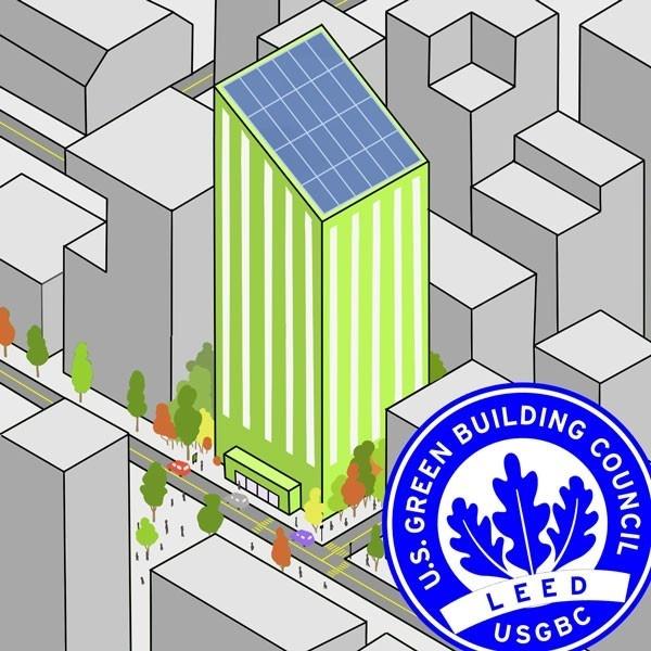 sello, leed, sustentabilidad, ecología, edificios, medioambiente, construcción, inmobiliario