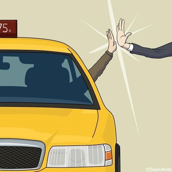 taxis, trabajo, felicitaciones, agradecimientos