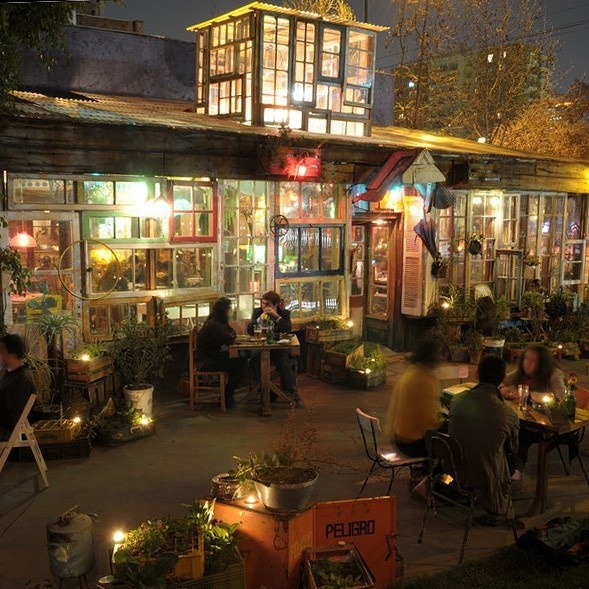 tony hornecker, la jardin, the pale blue door, restaurant, bilbao