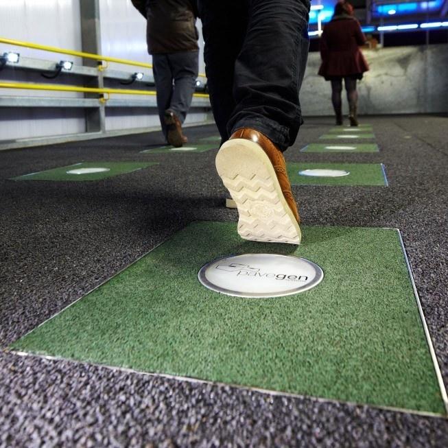 pavegen, baldosas, electricidad, energía, pisos, sustentable, renovable, innovación, tecnología