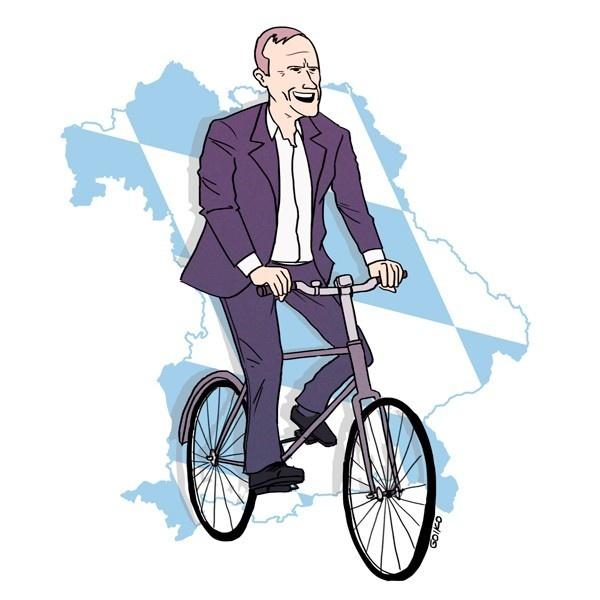 bicicleta, ciclismo, alcalde, munich, ciudad, alemania, ciclovías