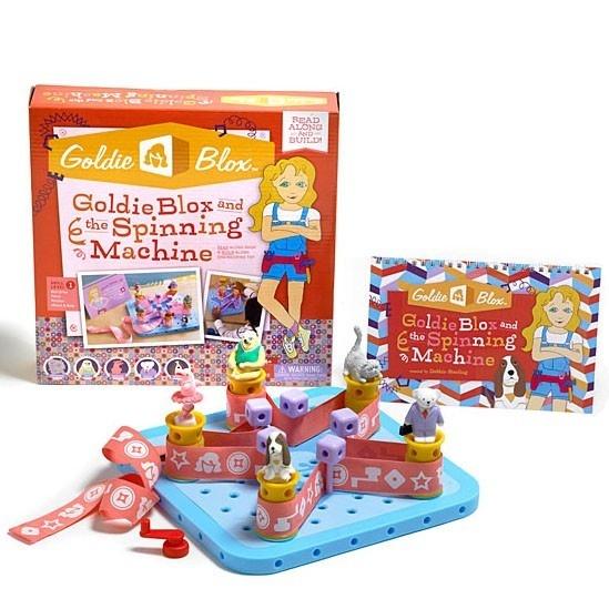 muñecas, goldie blox, juguetes, ingenieras, barbie
