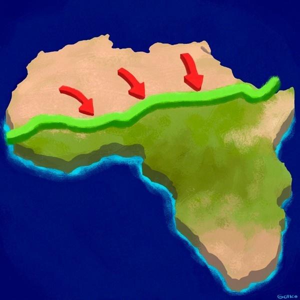 desertificación, gran muralla verde, áfrica, ecosistemas, agricultura, solución, sahel, ONU