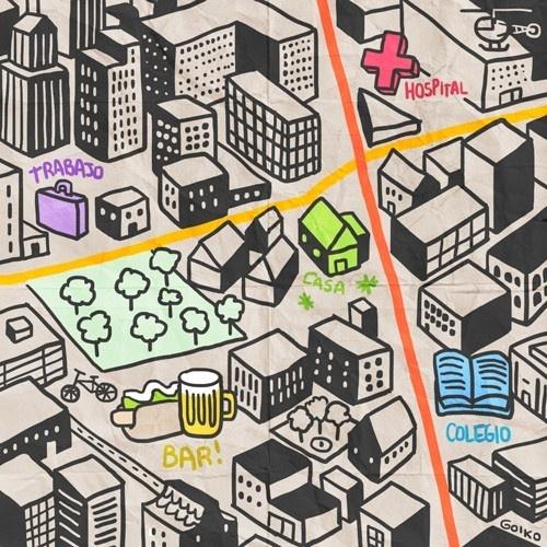 barrio, bicicleta, caminar, comodidad, urbanismo, 20 minutos, medioambiente, calidad de vida, portland