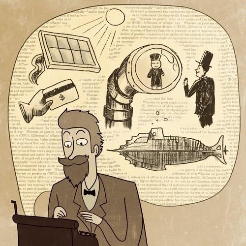 ciencia ficción, inventos, tecnología, bradbury, julio verne, google glass, star wars, futuro, laser