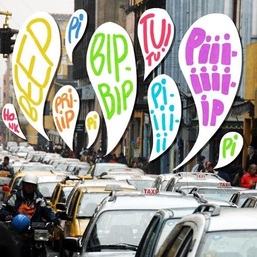 ruido, bocinas, contaminación, acústica, taxis, infracciones, multas, campañas, ciudad, transporte, automóviles, autos