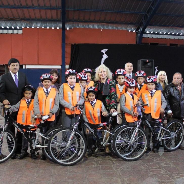 hijuelas, alcalde, bicicletas, obesidad, ausentismo, deserción