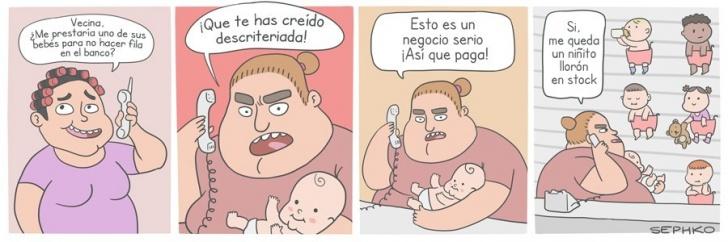Bebés, Tramites, Negocio, Niños, Abuso