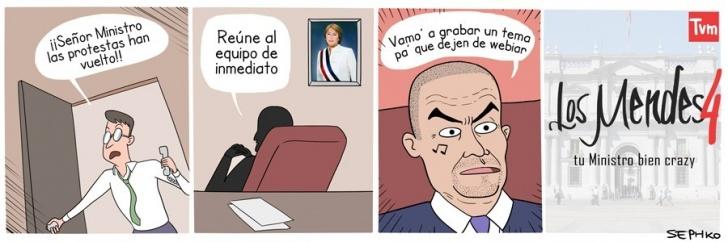 Política, Chile, Ministro, Mendez, Television