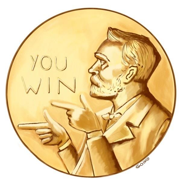 Premio Nobel, 2013, ganadores, física, química, medicina, economía, literatura, paz