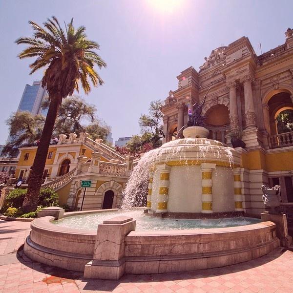 Santiago, primavera, panoramas, actividades, aire libre