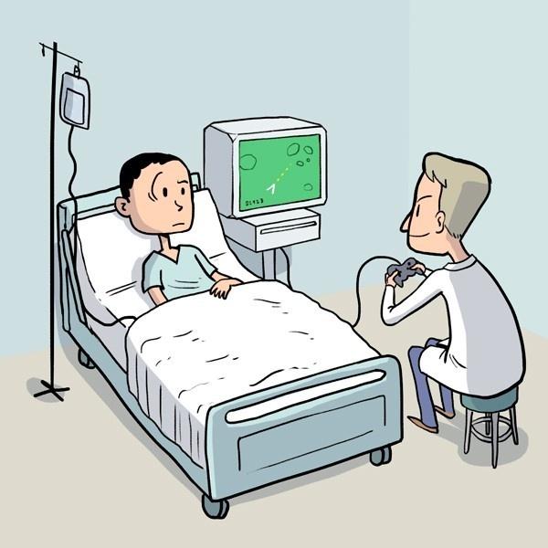 salud, medicina, cirugía, videojuegos, médicos, doctores, enfermedades
