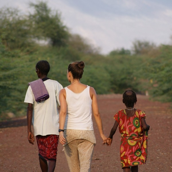 mukat: calor etíope, telefónica, magdalena hurtado, afar, etiopia., áfrica