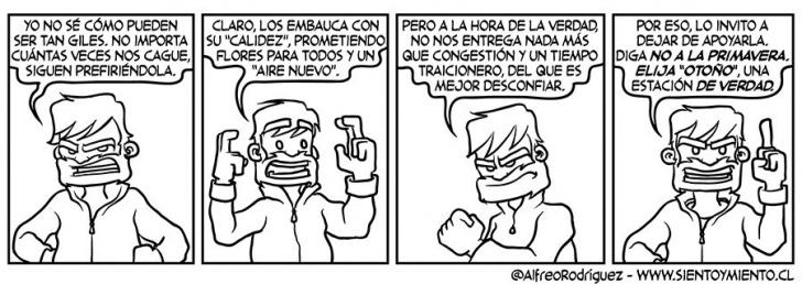 Política, Elecciones, Estaciones, Promesas, otoño, invierno, Bachelet
