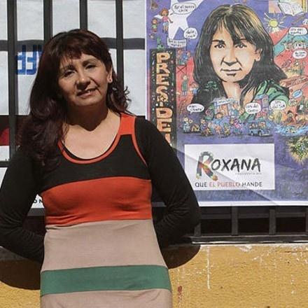 Roxana Miranda, candidata presidencial, elecciones, votación, pueblo