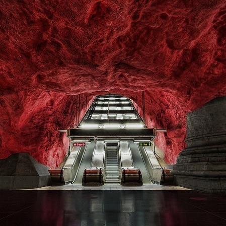 metro, subterráneo, transporte, diseño, decoración, arte, arquitectura