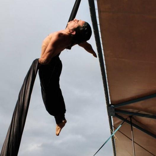 Circo, riesgo social, CirComedia, Daniel Toto, La Cisterna