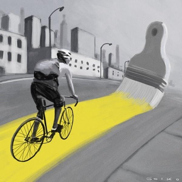 bicicleta, ciclovías, Nueva York, ciclobandas, transporte