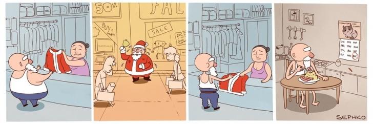 Navidad, Consumo, Trabajo, Verano, Hemisferio Sur, Calor