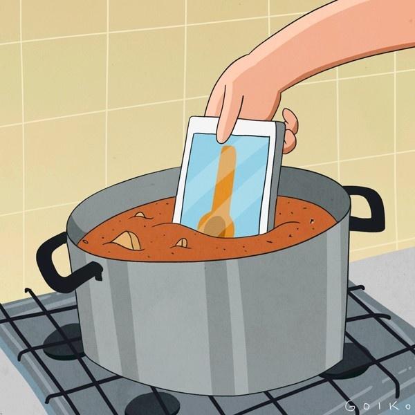 apps, cocina, comida, smartphone, sibarita, chef