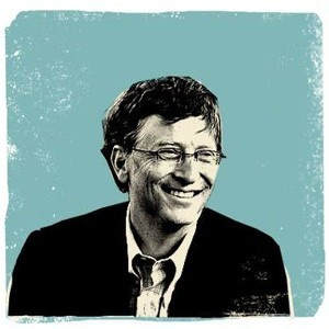 bill gates, microsoft, noticias positivas, 2013, polio, vih, pobreza, gates notes