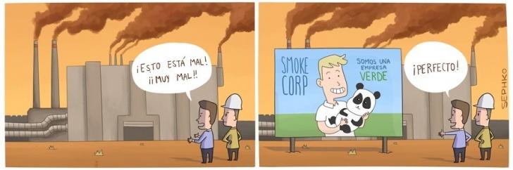Greenwashing, Industria, Empresas, Publicidad, Contaminacion