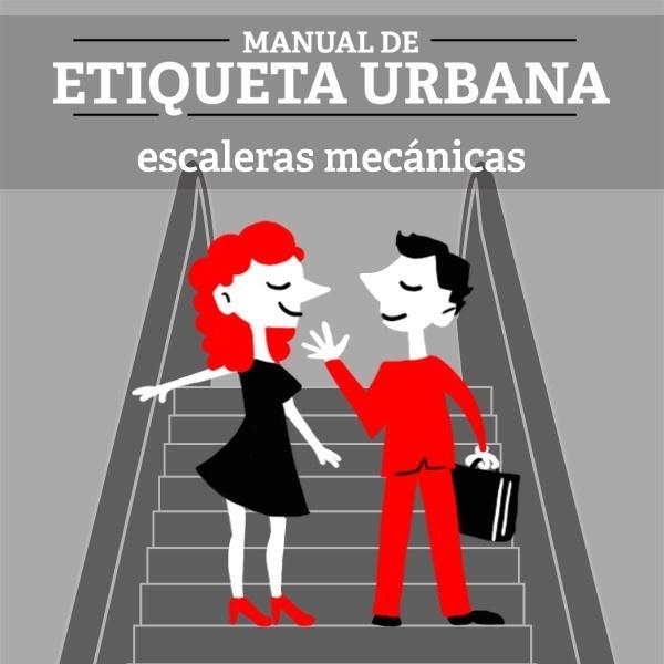cultura, educación, escaleras, mecánicas, respeto, etiqueta, urbanidad