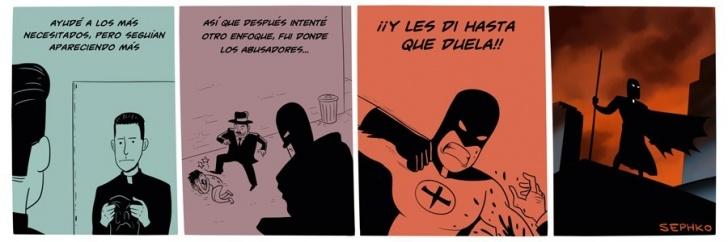 Padre Hurtado, Batman, Héroes, Pobreza, Solidaridad, Abuso