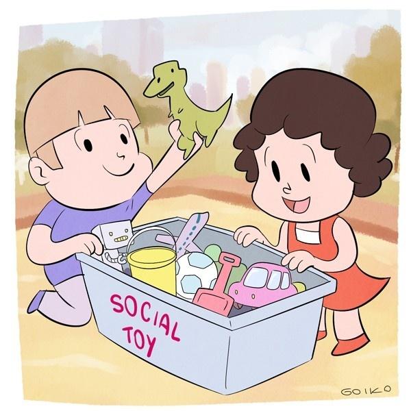 Social Toy, Barcelona, juguetes comunitarios, plazas, parques